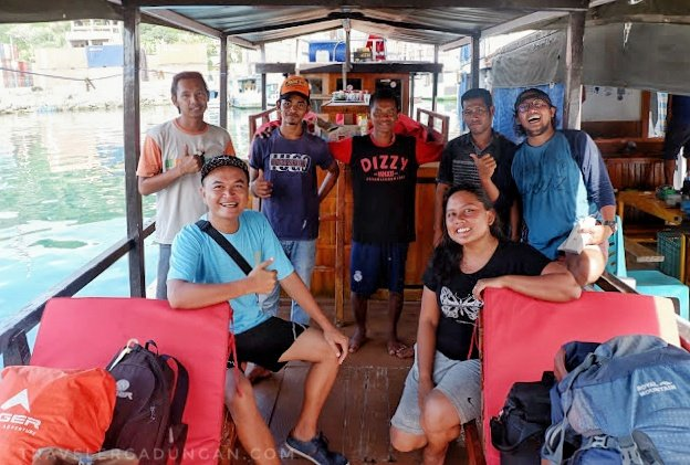 Foto bersama Team Be Borneo Tour