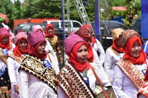 Peserta Parade Budaya FTS 2018