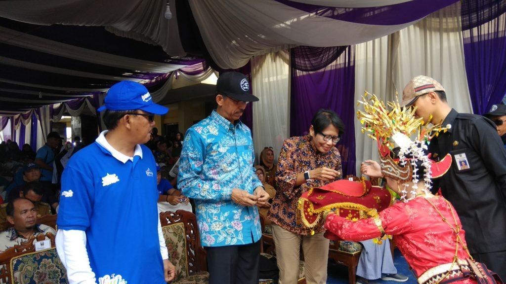 Bupati Pesisir Barat, Wakil Bupati, Kadispar Provinsi Lampung dan Berserta Jajaran-nya
