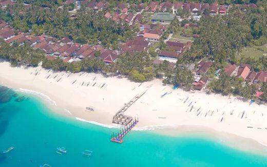 Pulau Pisang melihat dari atas (Foto by: dedenangga)