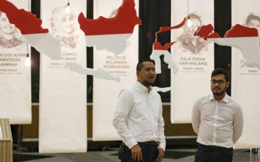 Meidy Fitranto dan Faris Rahman Penerima 9th SATU Indonesia Awards 2018